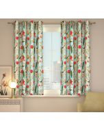 India Circus Feathered Garden Window Curtain