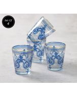 India Circus Flight of Birds Shot Glass (Set of 4)