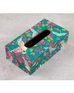 India Circus Flight of Cranes Tissue Box Holder