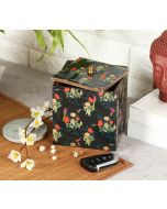 India Circus Floral Fascination Square Storage Box