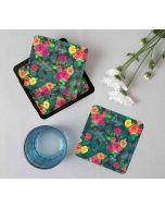 India Circus Floral Flutter Table Coaster