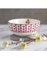 India Circus Floral Fountain Katori Bowl