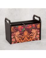 India Circus Floral Galore Desk Organizer
