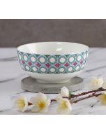 India Circus Floral Illusion Katori Bowl