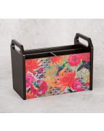 India Circus Floral Kingdom Desk Organizer