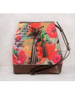 India Circus Floral Kingdom Hobo Bag