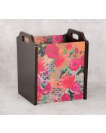 India Circus Floral Kingdom Magazine Holder