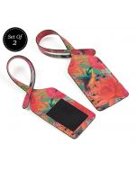 India Circus Floral Kingdom Travel Tag Set of 2