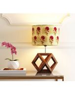 India Circus Flower Regalia Cylindrical Lamp Shade