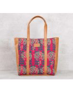 India Circus Flutter Tree Tote Bag