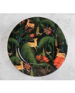 India Circus Forest Fetish Decor Plate