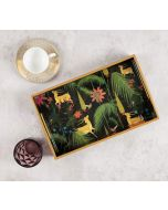 India Circus Forest Fetish Rectangle Serving Tray