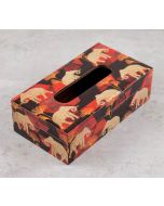 India Circus Gallant Tusker Tissue Box Holder