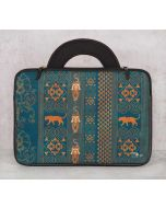 India Circus Geometrical Empress Blue 13-inch Laptop Bag