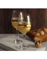 India Circus Gold Honeycomb Wine Glass (Set of 2)