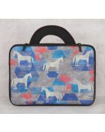 India Circus Grey Gallant Gypsy 13-inch Laptop Bag