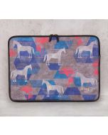 India Circus Grey Gallant Gypsy Laptop Sleeve