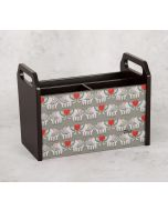 India Circus Heart Tusker Desk Organizer