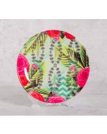 India Circus Herbs of Captivation 8 inch Decorative and Snacks Platter