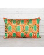 India Circus Heron's Palace Decorative Scale Cushion Cover
