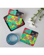 India Circus Indian Authenticity Table Coaster