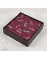India Circus Jam Chevron Butterflies Storage Box