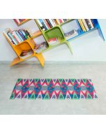 India Circus Lattice Chevron Mystery Bed Side Runner