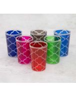 India Circus Lattice Decadence Moroccan Glasses Set of 6