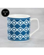 India Circus Lattice Fence Dining Extravaganza Mug