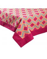 India Circus Lattice Practice Table Cloth