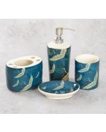 India Circus Legend of the Cranes Bath Accessory Set