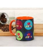 India Circus Love IC Coffee Mug