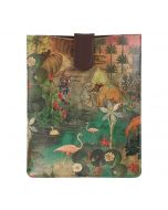India Circus Mapping Animals iPad Sleeve