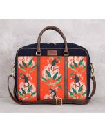 India Circus Monkey Games Laptop Bag