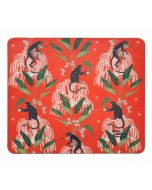 India Circus Monkey Games Mouse Pad