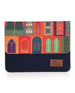 India Circus Mughal Doors Reiteration Denim iPad Sleeve