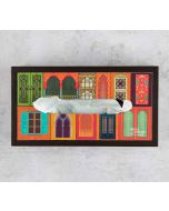 India Circus Mughal Doors Reiteration MDF Tissue Box Holder