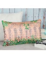 India Circus Mughal Garden Decorative Scale Cushion Cover