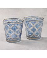 India Circus Mughal Jhali Glass Tumbler Set of 2