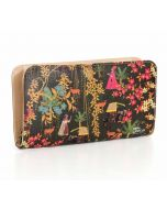 India Circus Mughal Traffic Ladies Zipper Wallet