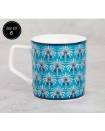India Circus Mystical Garden Mug (Set of 6)