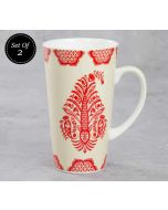 India Circus Mystique Flower Ambush Conical Mug