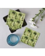 India Circus Palmeria Conifer Reiteration Table Coaster