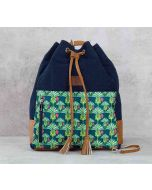 India Circus Palmeria Reiteration Denim Hobo Bag