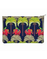 India Circus Palmeria Tusker Reiteration Makeup Pouch