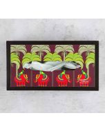 India Circus Palmeria Tusker Reiteration MDF Tissue Box Holder