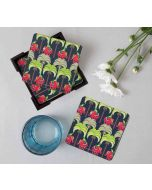 India Circus Palmeria Tusker Reiteration Table Coaster Set of 6