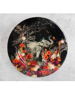 India Circus Paradise 11 inch Decor Plate