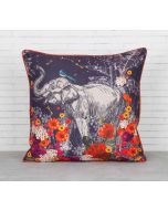 India Circus Paradise Blended Taf Silk Cushion Cover
