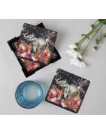 India Circus Paradise Table Coaster Set of 6